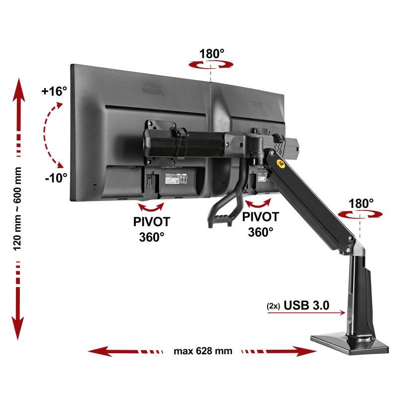 Specyfikacja uchwytu do monitora F27