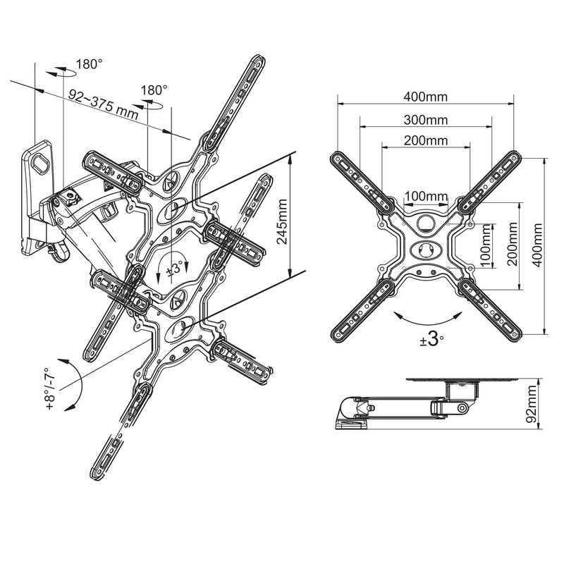 Rysunek techniczny uchwytu F350