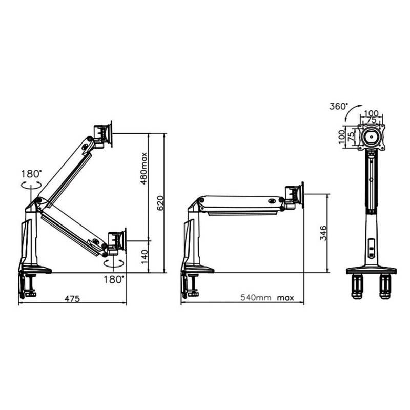 Rysunek techniczny uchwytu F37