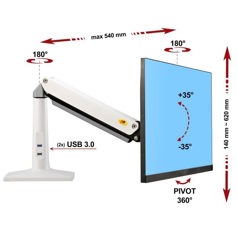 Specyfikacja uchwytu do monitora F37