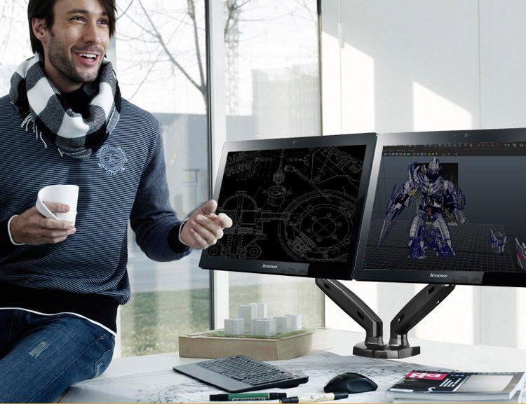 Specyfikacja uchwytu do monitora F80x2