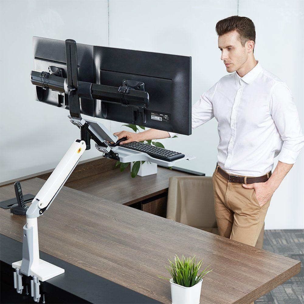 FC24-2A Stacja robocza na dwa monitory i klawiaturę
