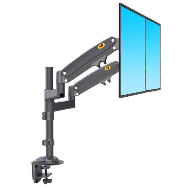Specyfikacja uchwytu do dwóch monitorów H180
