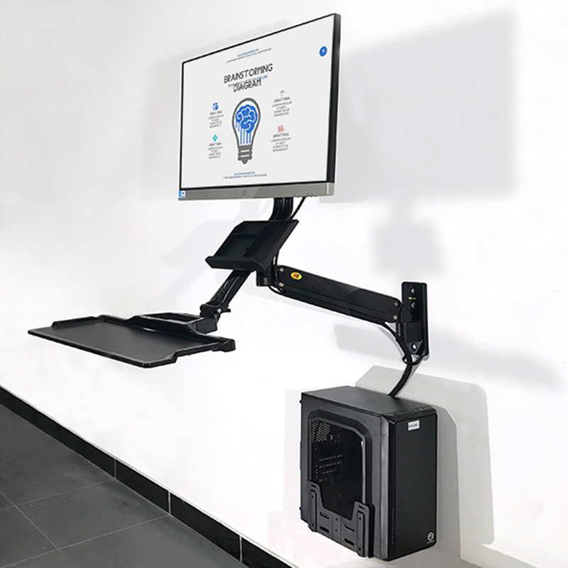 Ścienna stacja robocza na monitor i klawiaturę MC32