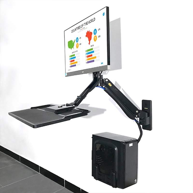 Ścienna stacja robocza na monitor i klawiaturę MC40