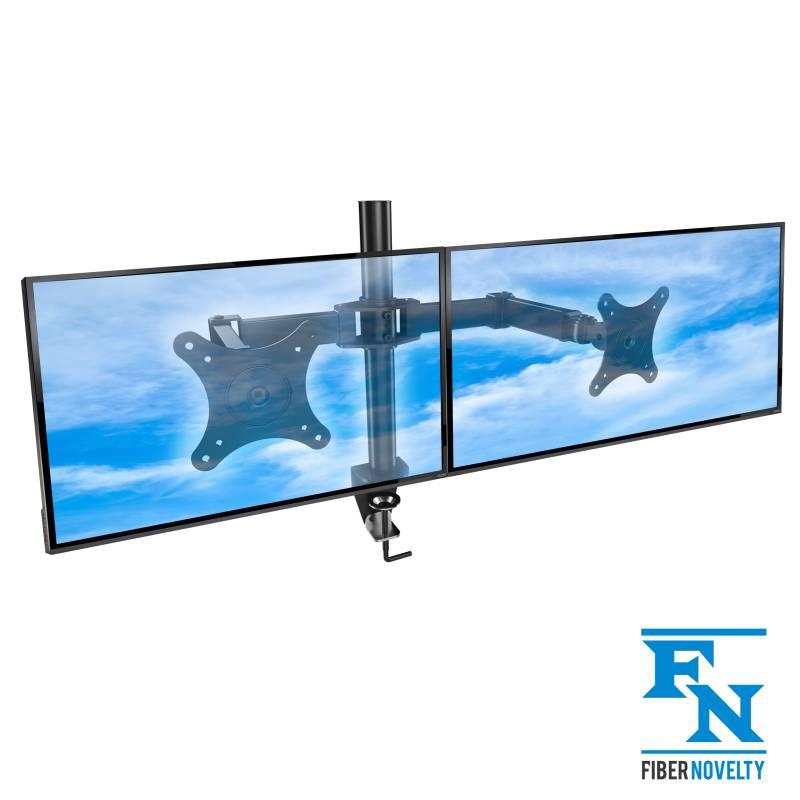 Biurkowy uchwyt na dwa monitory - model: MD122