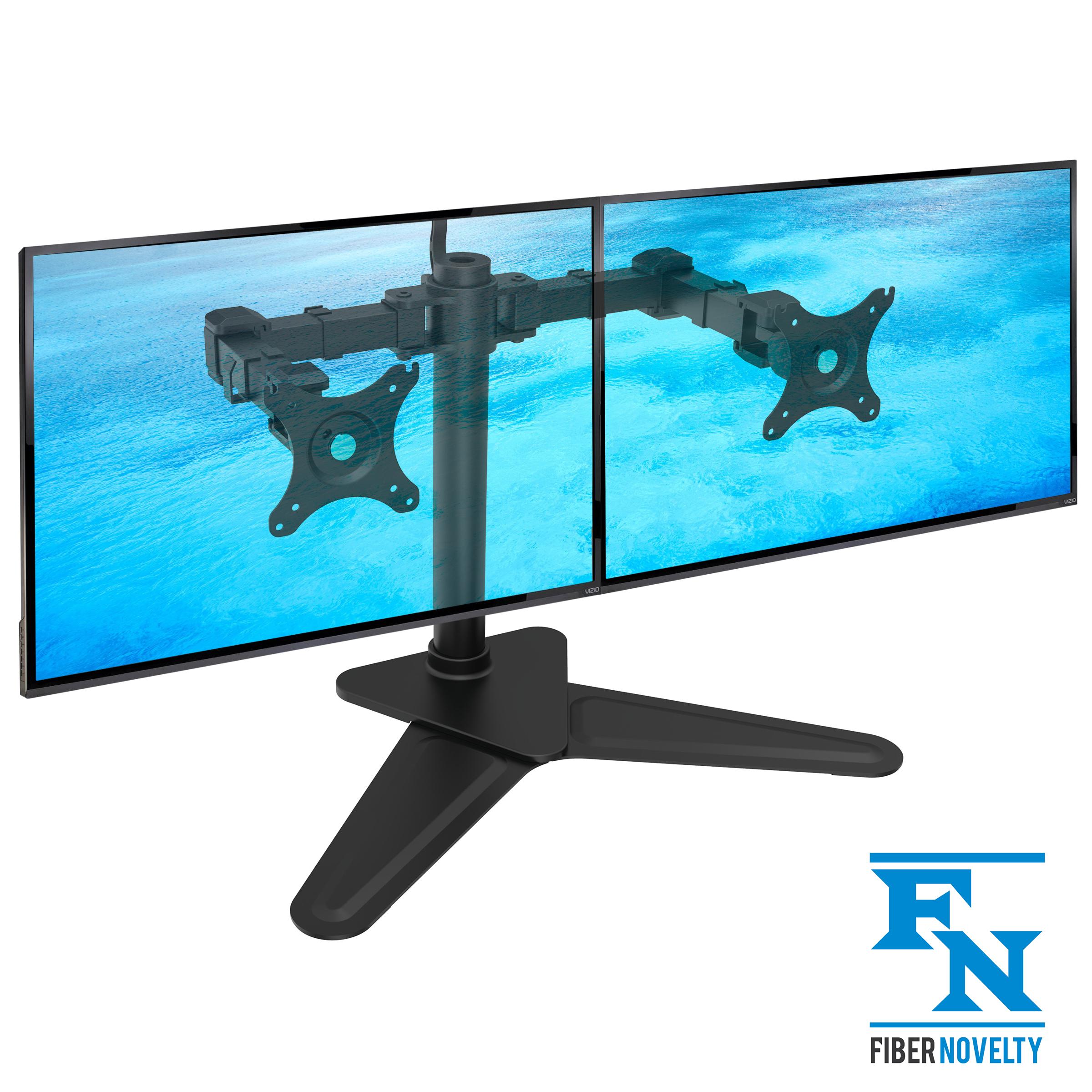 Biurkowy stojak na dwa monitory / podstwa- model: NF22