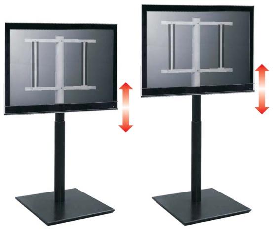 W Ultra HANDY SPRING - Ekskluzywny stojak, wieszak TV, wózek do LCD, LED ON18