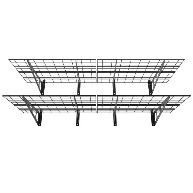 Pg26b Półka Garażowa Wisząca Metalowa Solidna Do 90 Kg Na